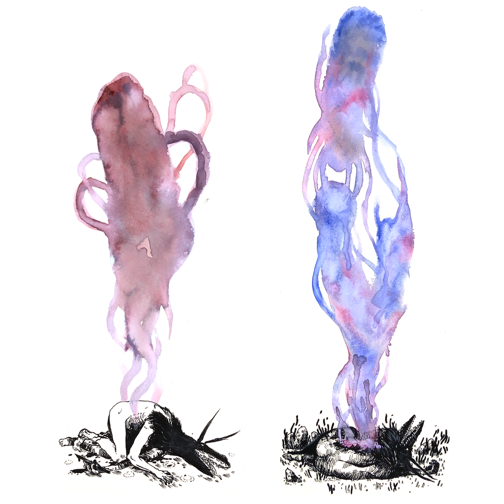 Fluid Spirit, (i & ii)