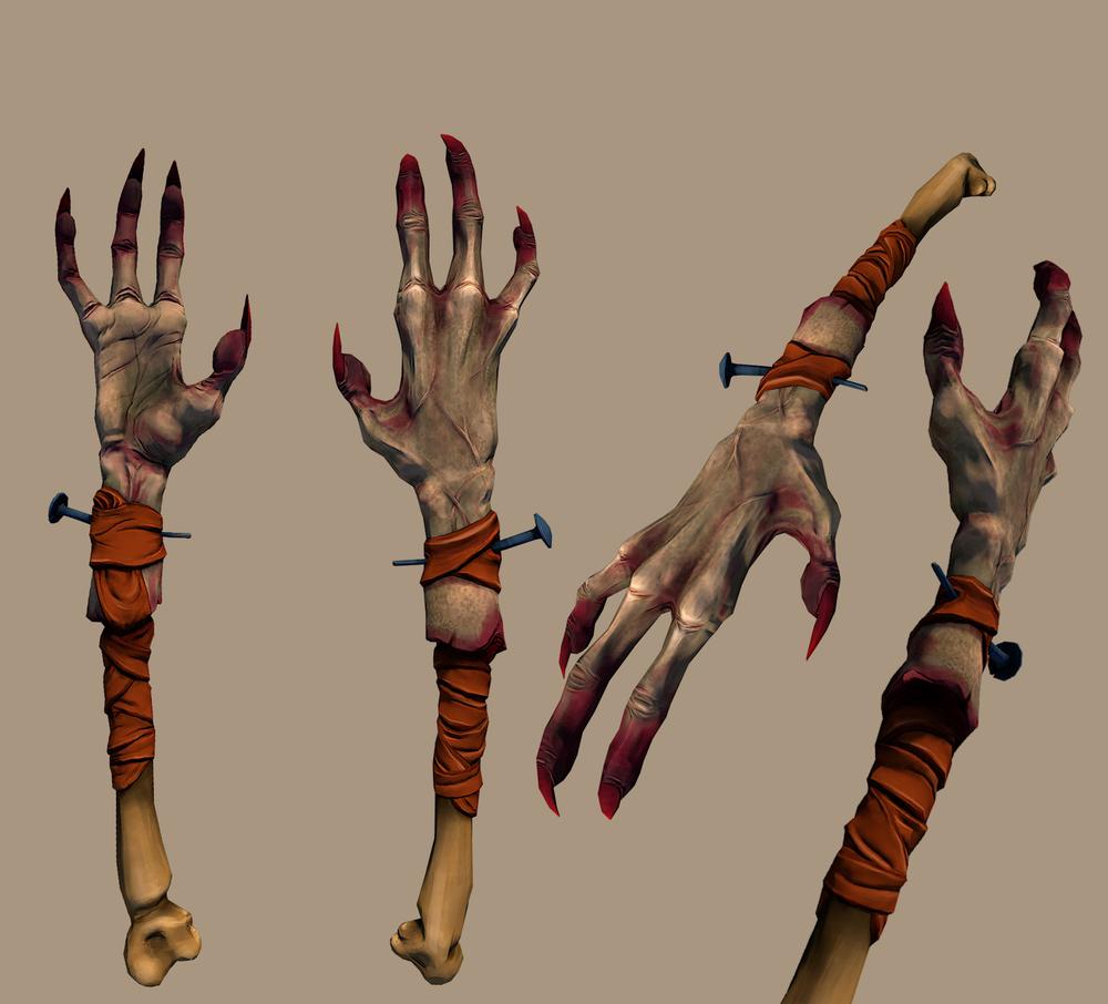 Demons Appendage Wand (3D)