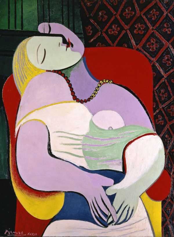 Pablo Picasso, Le Reve, 1932 - Love Fame Tragedy, Tate Modern.jpg