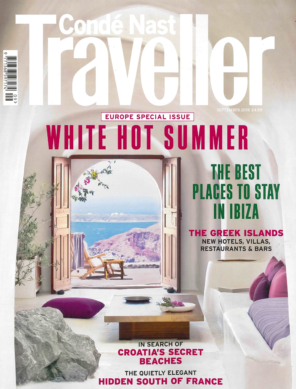 Condé Nast Traveller<br>09/2018