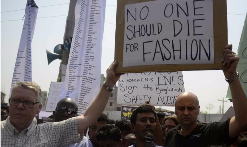 No one should die for fashion