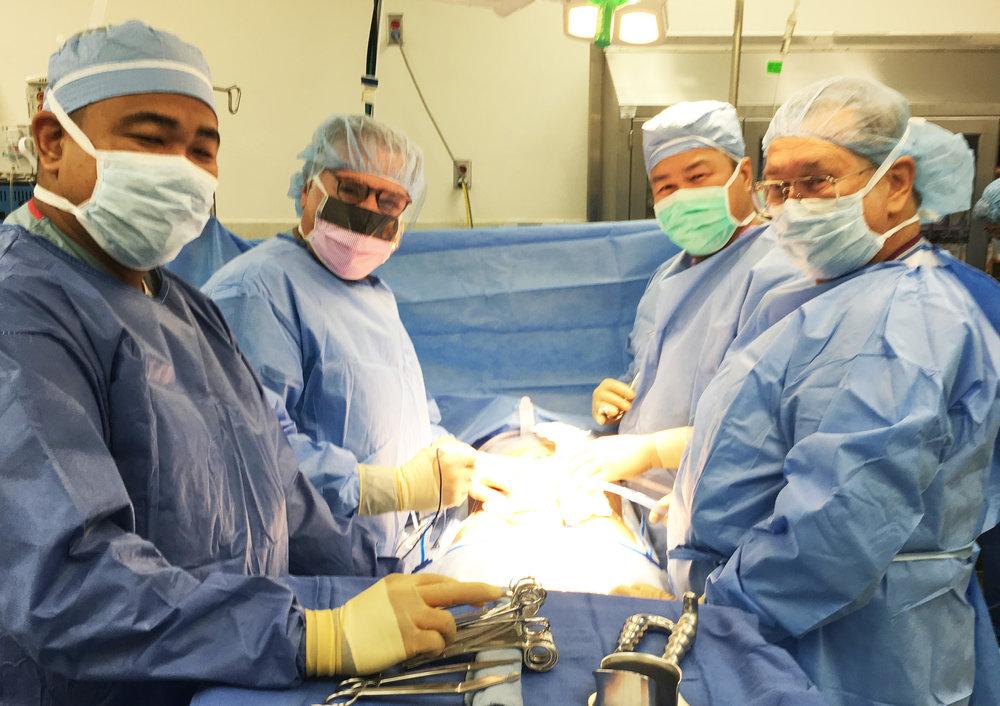 婦科手術 -