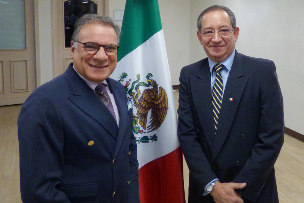 Recognition from the CONSUL OF Mexico IN Santa Ana -