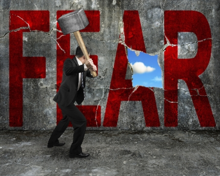 crush the fear