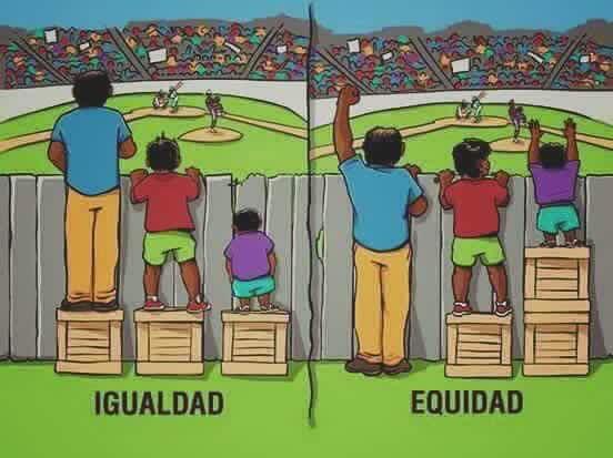 Equidad o Igualdad