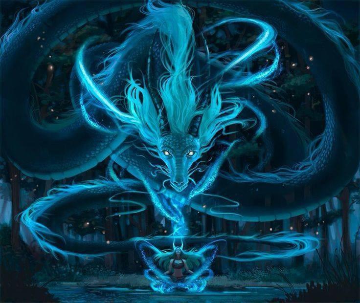 Dragon Transformation Evolving Through Draconic Symbolism