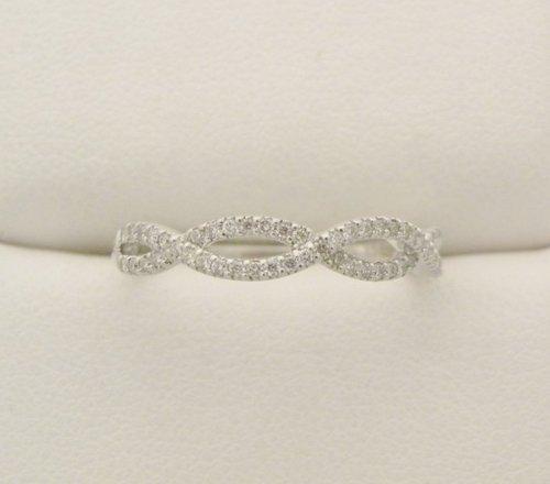 Diamond Infinity Wedding Band .15ctw — Furnari Jewelers