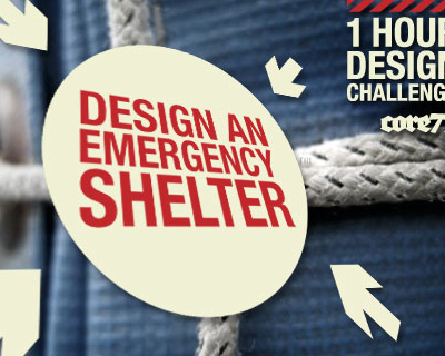 Core 77 Design Challenge - Emergency Shelter2009