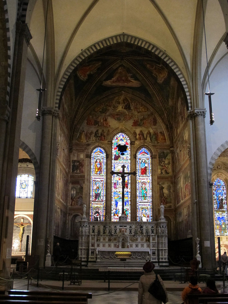 The Capella Tornabuoni,  wikimedia