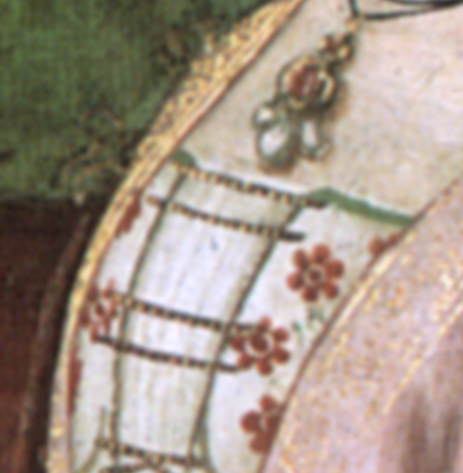 Detail of  The Birth of St. John the Baptist