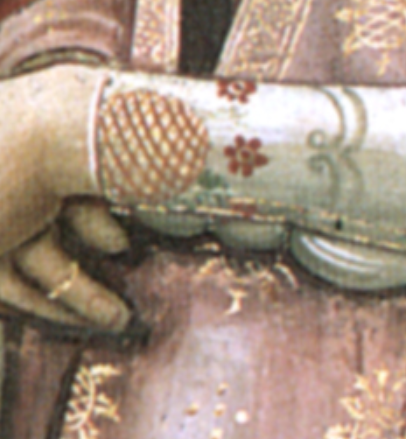 Detail from  The Birth of St. John the Baptist