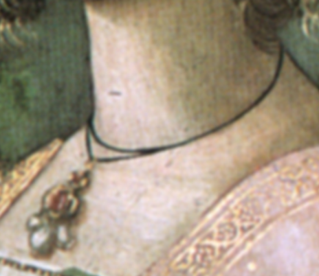 Detail from  Birth of St John the Baptist