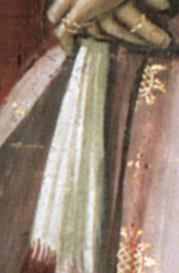 Detail from  Birth of St. John the Baptist