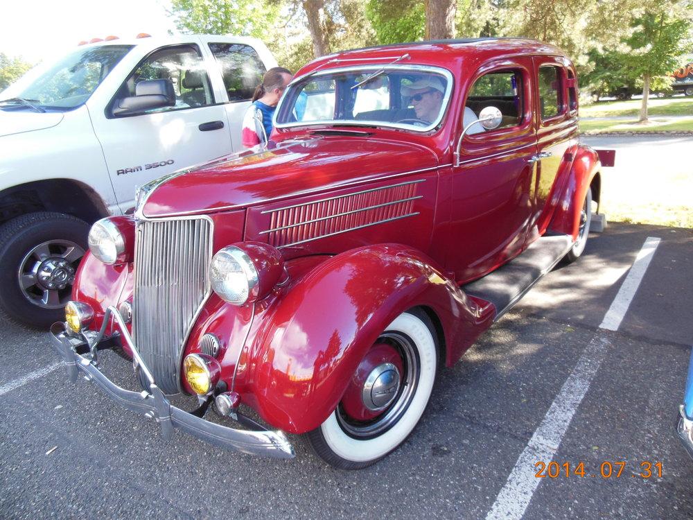 Bruce and Cris Nichols - 1936 Ford 4-Door Sedan