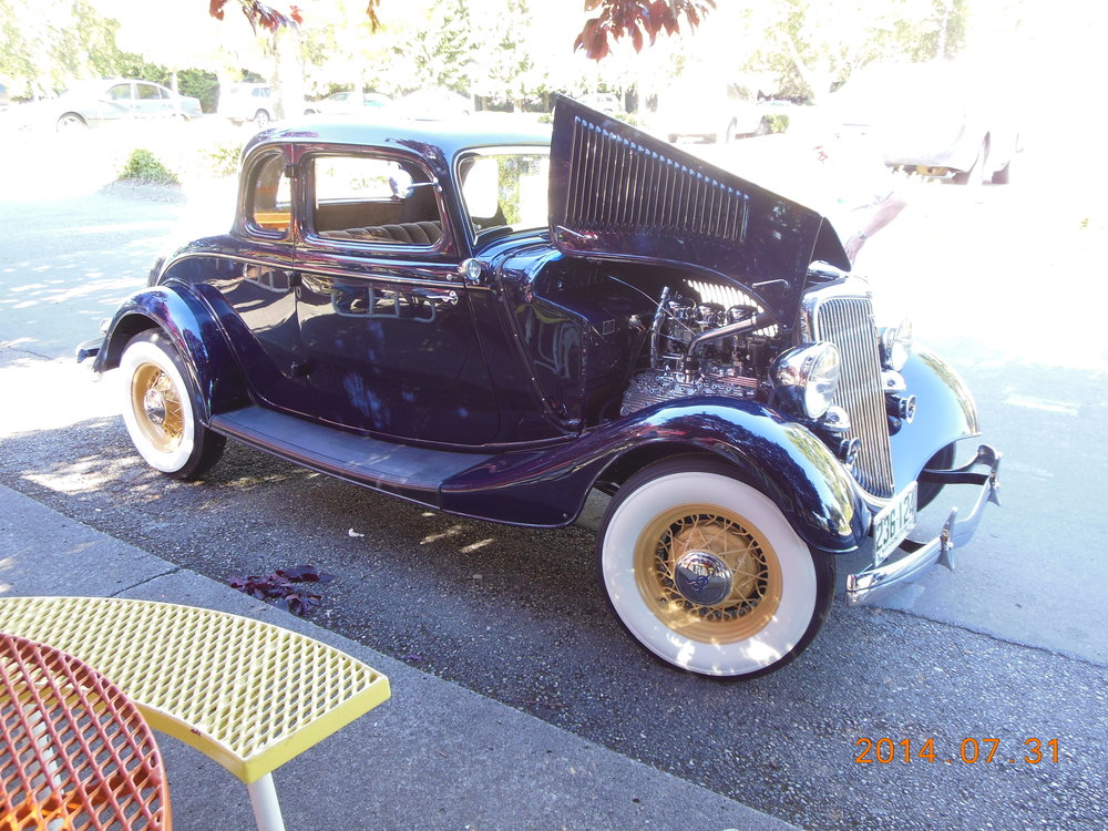 Gary and Gerrie Lees - 1934 5-Window Coupe