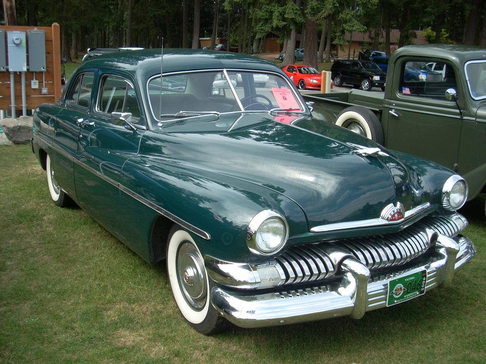 Gerry and Joanne Herber  - 1951 Mercury 4Door Sedan