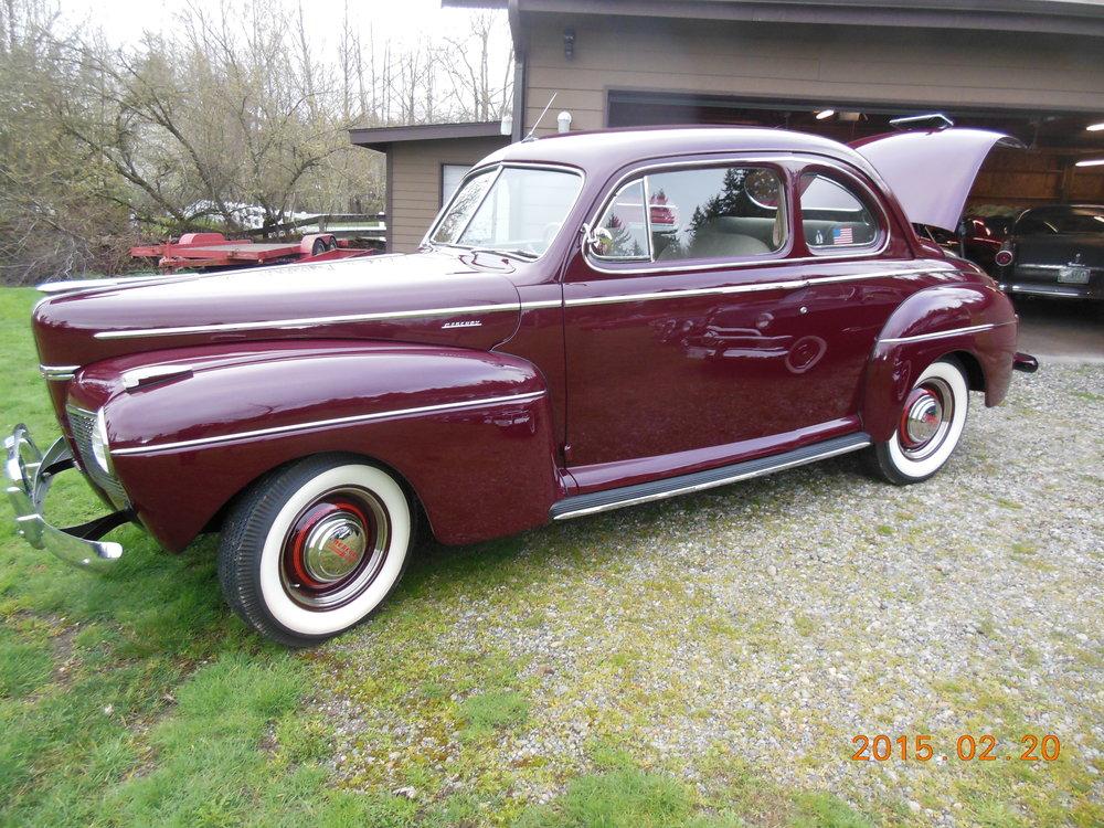 Gary And Gerrie Lees - 1941 Mercury 2-Door Sedan Coupe