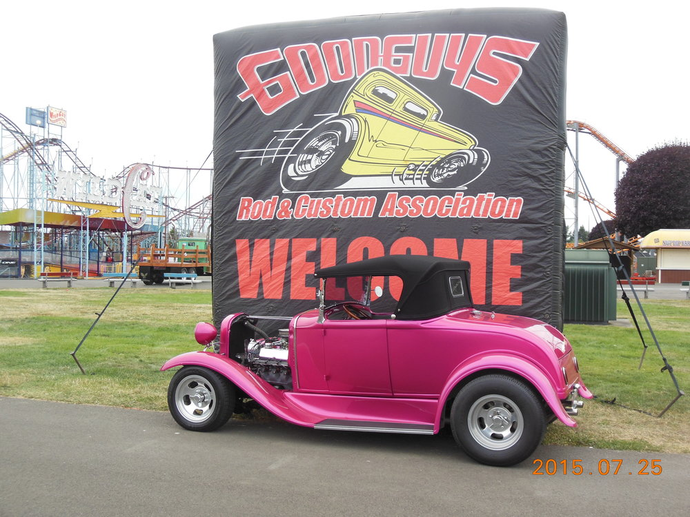 John And Nancy McGinnis - 1930 Ford Roadster