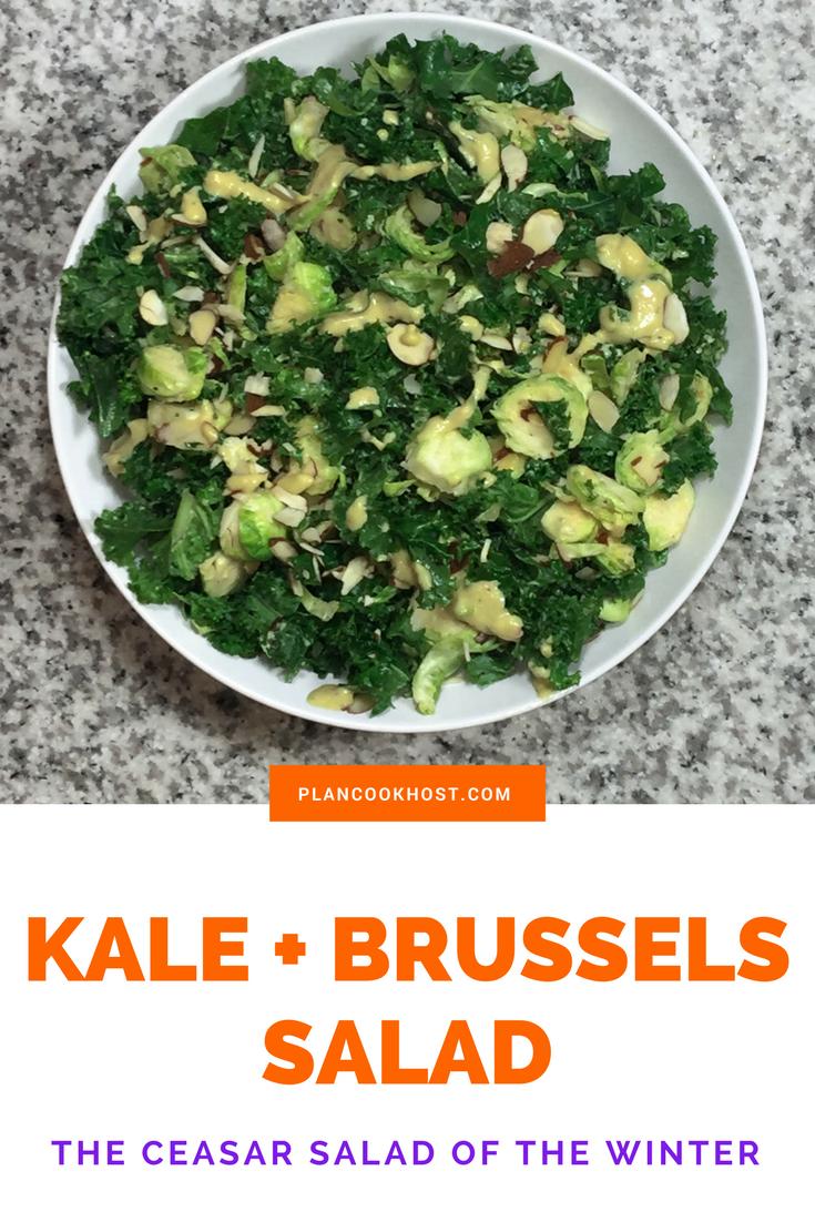 Kale + Brussels Salad Recipe