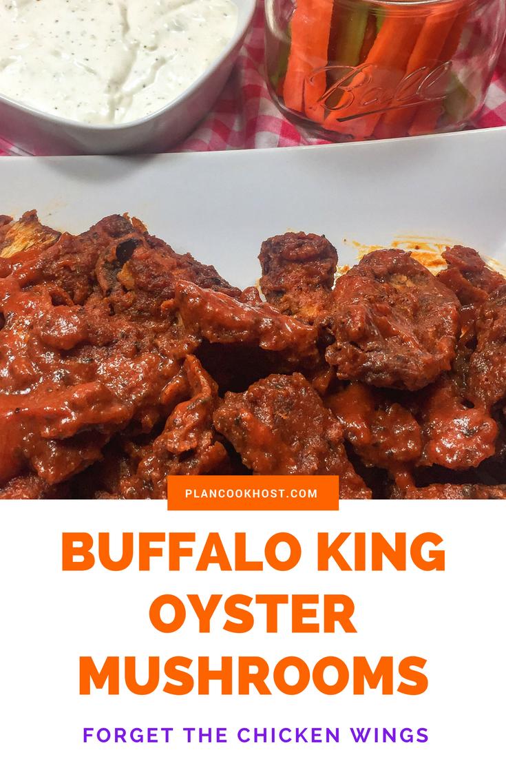 Buffalo King Oyster Mushrooms