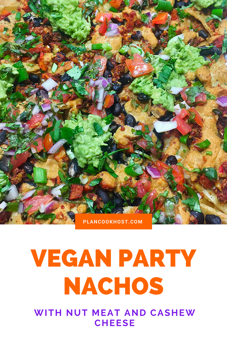 Vegan Party Nachos