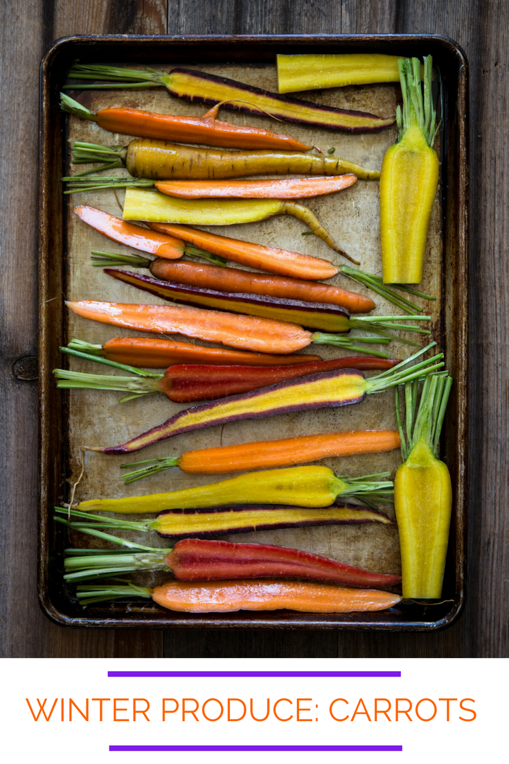 Winter Produce: Carrots