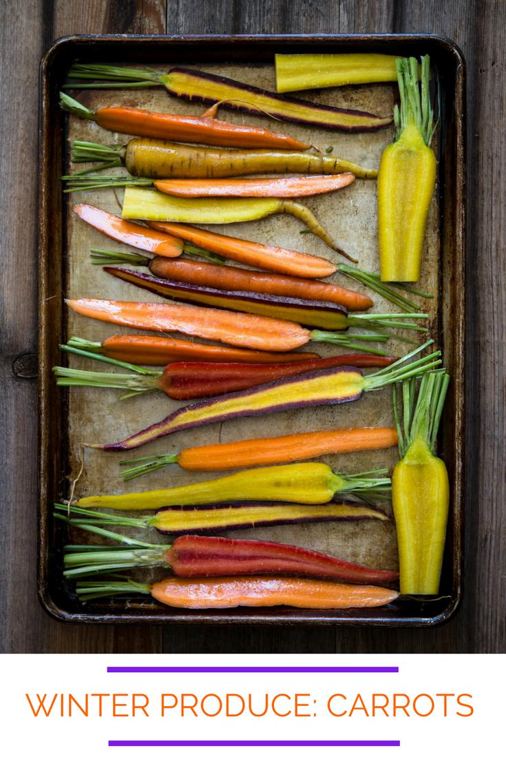 Winter Produce: Carrots