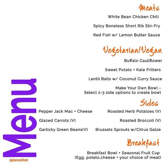 Have your order your meal prep? Orders due by 4 PM Saturday. Click link in bio to order. - - - #lazyinthekitchen #busyentrepreneur #girlboss #ineedachef #mustbehealthy #hatetocook #ihatecooking #tiredofcooking #healthymeals #atlantachef #mealplanservice #mealprepservice #atlantafooddelivery #fitnessjourney #atlantamealprep #farmtotable #seasonaleats #personaltrainer #atlantapersonalchef  #smallbusiness #blackbusinessowner #blackbusiness #mealplans #nomoretakeout #mealprepatlanta #plancookhost