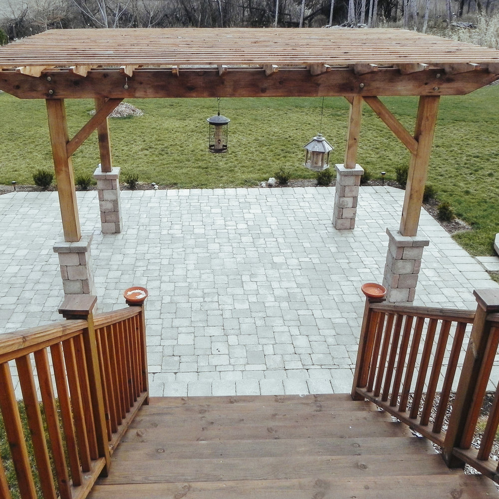 PAVERS - We are a Unilock Authorized Contractor! Patio pavers offer endless possibilities when it comes to creating spectacular outdoor spaces.