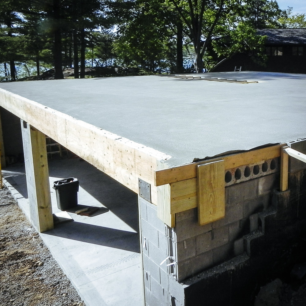 CONCRETE - Floors, sidewalks, patios or small footings, we're ready. We'll work with above or below grade jobs on additions, new, and existing buildings.