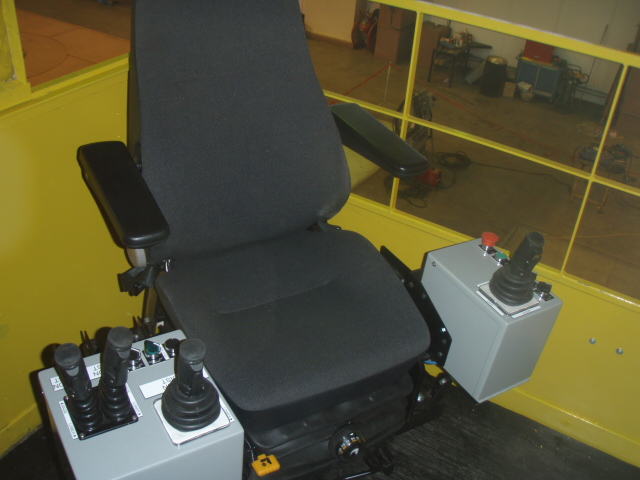 Cab Controls Refurbishment