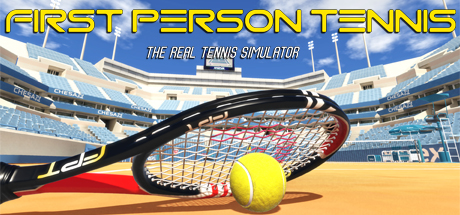 http://store.steampowered.com/app/454140/First_Person_Tennis__The_Real_Tennis_Simulator/