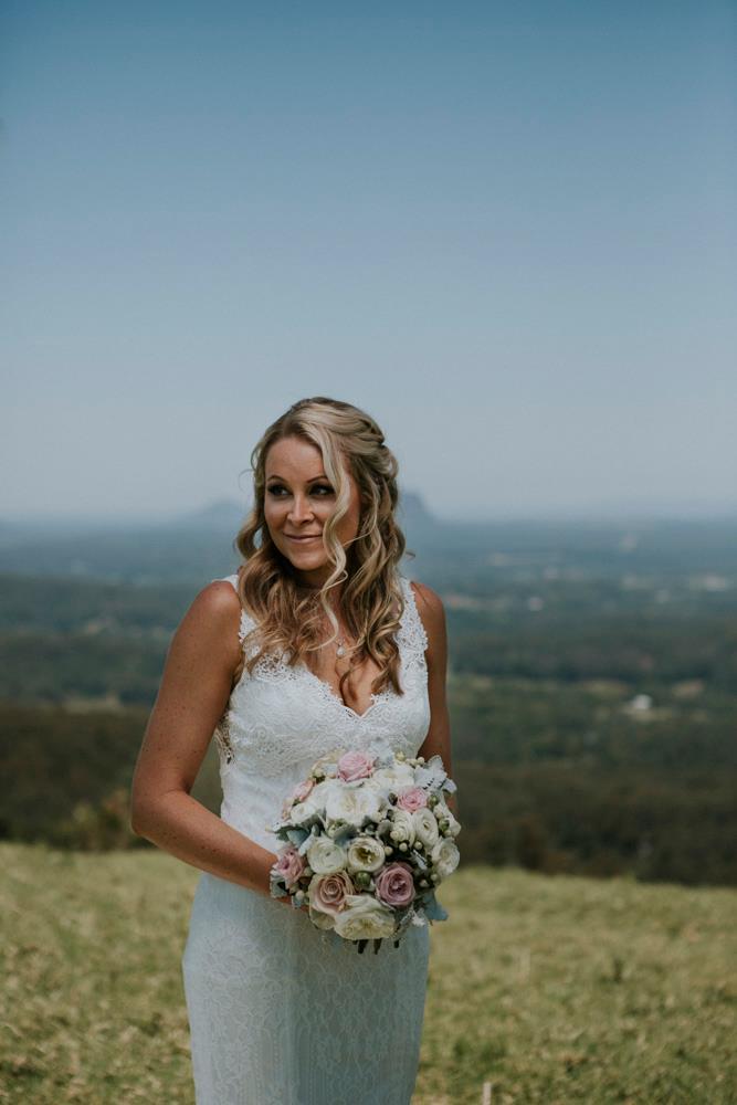 Wedding hair and makeup Maleny