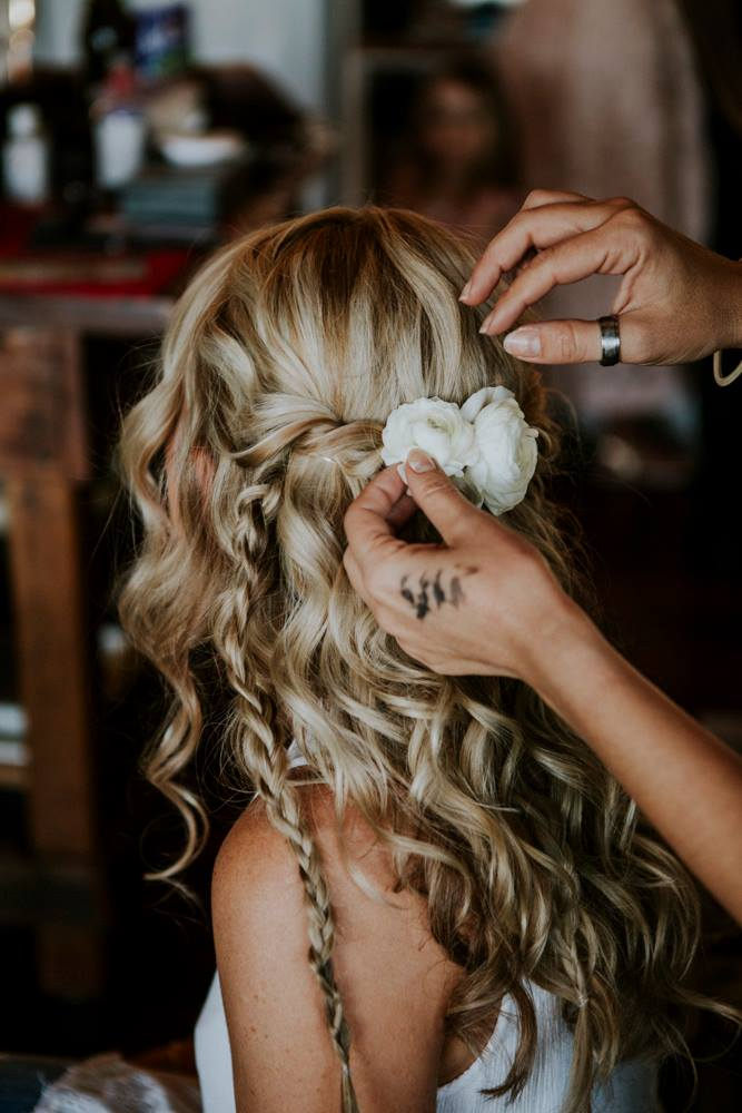 Bridal Hairstyling Maleny