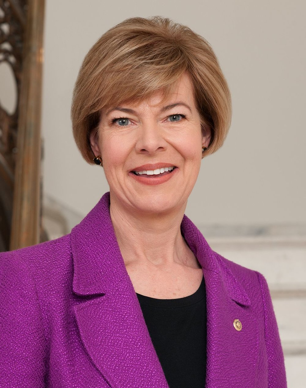"Senator Tammy Baldwin U.S. Senate - WI Tammy Baldwin is the junior United States Senator from Wisconsin and a member of the Democratic Party. She is the first woman elected to represent Wisconsin in the Senate and the first openly gay U.S. Senator in history. She previously served as the U.S. Representative from Wisconsin's 2nd congressional district from 1999 to 2013, as well as serving three terms in the Wisconsin Assembly representing the 78th district. Baldwin defeated her Republican opponent, former Wisconsin Governor Tommy Thompson, in the 2012 U.S. Senate election. A self described ""proud progressive"", Tammy is considered on of the most liberal members in Congress. She is a staunch fighter for women and LGBT rights."
