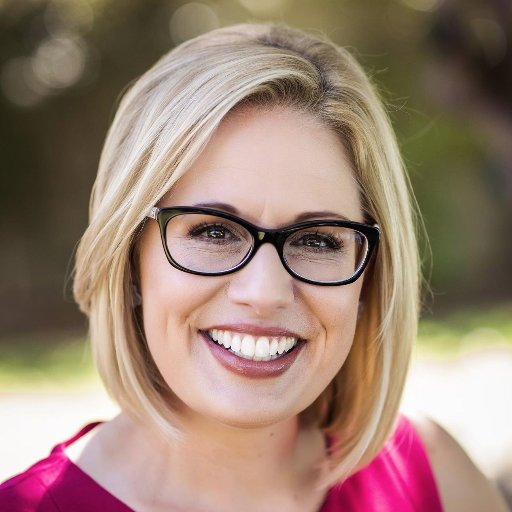 Congresswoman Kyrsten Sinema U.S. Senate - AZ   Krysten Sinema is the U.S. Representative for Arizona's 9th congressional district and a member of the Democratic Party. Prior to being elected she served in both chambers of the Arizona legislature, being elected to the Arizona House of Representatives in 2005, and the Arizona Senate. She was elected to Congress in 2012 and became the first openly bisexual U.S. Representative. She is currently running in the 2018 Arizona Senate race to replace Republican incumbent Jeff Flake. If elected, she would be the first openly bisexual person elected to the U.S. Senate and the second openly LGBT person ever to serve in the Senate. Kyrsten is currently a member of the Congressional LGBT Equality Caucus.