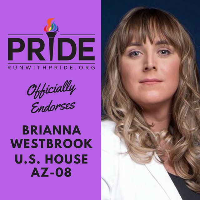 Run with Pride officially endorses Brianna Westbrook for Congress!