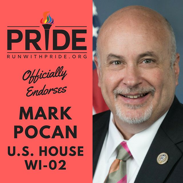 Run with Pride officially endorses Mark Pocan for Congress!
