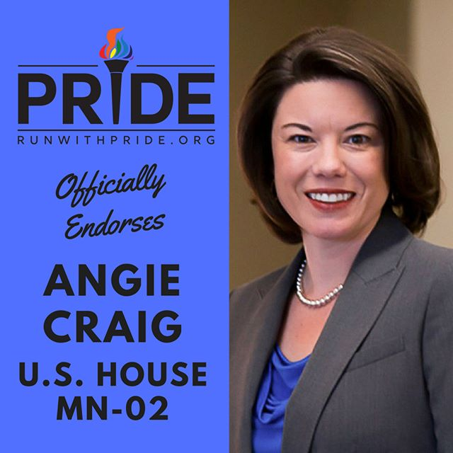 Run with Pride officially endorses Angie Craig for Congress!