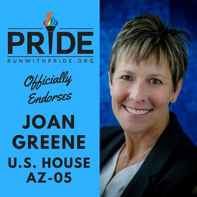 Run with Pride officially endorses Joan Greene for Congress!