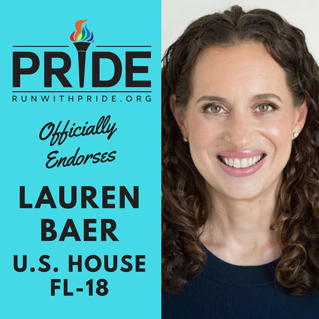 Run with Pride officially endorses Lauren Baer for Congress!