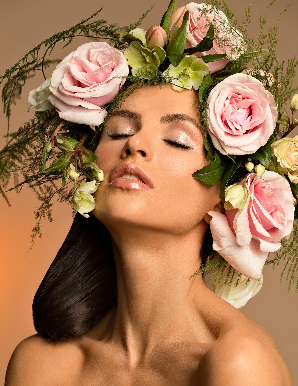 Collaboration Credits: Photographer - Tina Simaik a. MUAH -  Meagan MacRae  Model -  Ave Maria