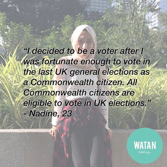 This is what a youth voter looks like. This week, we featured Nadine, Jarry, and Yi Wei. Read their stories at watanku.org/stories (link in bio!) ⠀ - ⠀ Registering to vote in Malaysia takes minutes at your nearest post office, and you'll never have to do it again! #daftarje