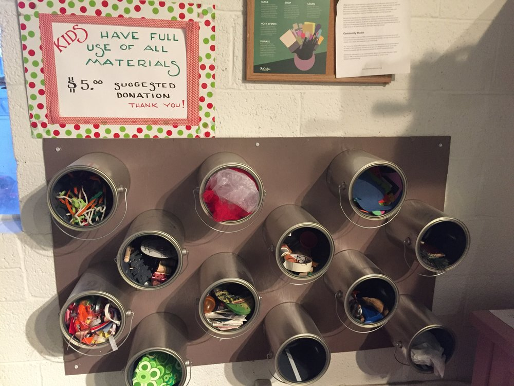 Kid's Maker Space at Re-Creative Studios
