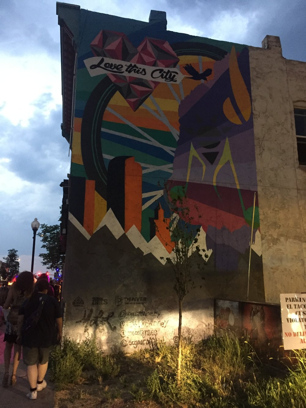 Love This City. First Friday Art walks in Denver
