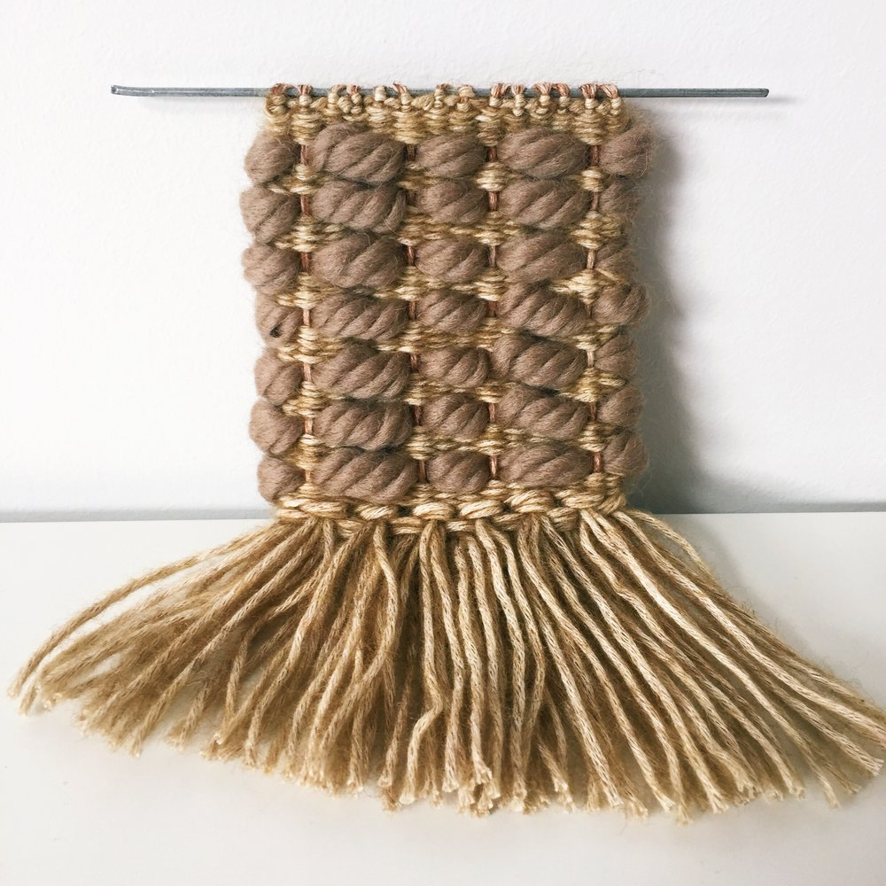 Natural fibers. Wool and cotton.