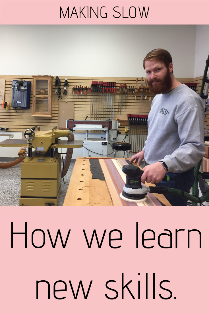 There are so many ways to learn! Here's how we learn new skills.