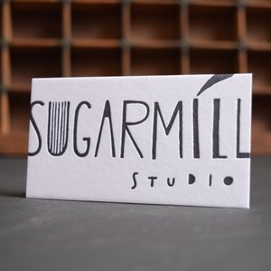 The work olive letterpress letterpress business card sugarmill studio reheart Image collections