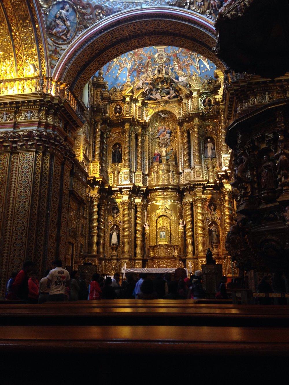 La Iglesia de la Compañia de Jesus -
