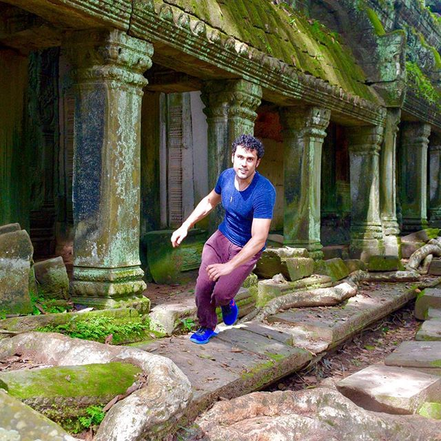 Ta Prohm (tomb raider temple) is much more epic than Angkor Wat.  Photo cred: @diamondinthewind